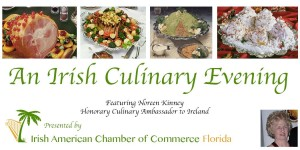 Irish Culinary Event Dinner.